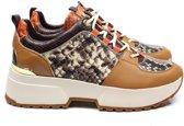 Michael Kors 43F9CSFS2E sneaker - bruin / combi, 41 / 7