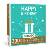 BONGO - Happy Birthday - Cadeaubon