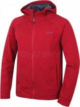Husky sweatshirt Anah M voor heren met capuchon en rits - Rood - XXL