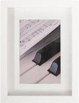 Henzo Piano Fotolijst - Fotomaat 13x18 cm - Wit