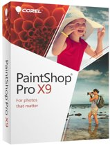 Corel PaintShop Pro X9 - 19 - Nederlands / Engels / Frans - Windows