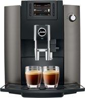 Jura Impressa E6 Espressomachine, dark inox
