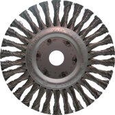 Ironside Rondborstel Getordeerd 125 X 22.2 mm Staal