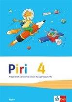 Piri Das Sprach-Lese-Buch. Arbeitsheft in Vereinfachter Ausgangsschrift 4. Schuljahr. Ausgabe für Bayern