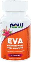 NOW EVA multivitamine voor vrouwen 90 tabletten