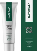 Woom tandpasta Natural +  75ml.