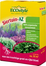 ECOstyle Siertuin-AZ - 3,5 kg - natuurlijke siertuinmeststof voor 35 m2