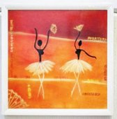 Schilderij Dalia 2003 36 CM X 36 CM