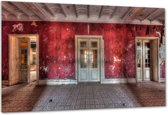 Hotel Rouge II - Plexiglas 120x80 cm - Ivo Sneeuw - PixaPrint - GA00281-1