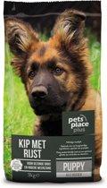 Pets Place Plus Puppy - Hondenvoer - Kip&Rijst - 3 kg