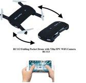RC 113 mini opvouwbare drone met HFPV Camera
