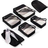 Packing Cubes, Koffer Organizer, Set met 6 tasjes en zakken
