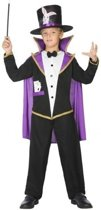 Goochelaar verkleedpak/kostuum voor kinderen - carnavalskleding - voordelig geprijsd 116 (5-6 jaar)