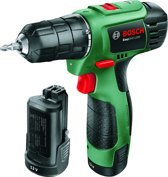 Bosch EasyDrill 1200 Accuboormachine - 12 V - Met  2 accu's