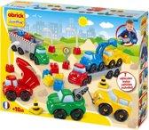 écoiffier Abrick Bouwvoertuigen - Constructiespeelgoed