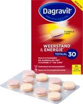 Dagravit Totaal 30 Weerstand & Energie - 50 kauwtabletten