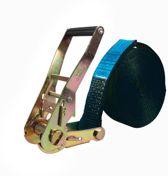 Logistiekconcurrent.nl Eindloze spanband 50 mm. 5 ton 4M Zwart