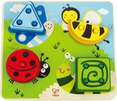 Houten Puzzel - Vormen leren - Kleuren leren - Leren tellen - Hape