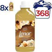 Lenor Parfumelle Gouden Orchidee - 368 Wasbeurten - Voordeelverpakking 8x1150ml - Wasverzachter
