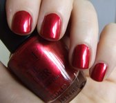 OPI nagellak Dark Shiny Red