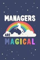 Managers Are Magical Journal Notebook