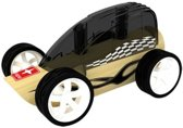 Hape - Bamboe auto - Zwart
