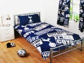 Tottenham Hotspur voetbal dekbedovertrek Spurs - eenpersoons dekbedhoes en 1 kussensloop