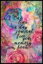 One Line a Day Journal Five Year Memory Book