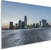 Foto van Beijing vanaf een plein Plexiglas 40x30 cm - klein - Foto print op Glas (Plexiglas wanddecoratie)