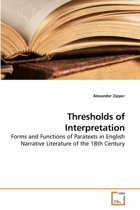 Thresholds of Interpretation