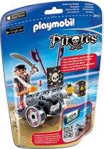 Playmobil Piraat met zwart kanon  - 6165