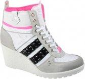 Quick Dutch Fabulous White Ice Black sneakers dames (Q9031523222)