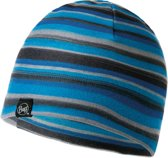 Buff Polar Patterned Kinderen Muts - Blue - 4-12 jaar