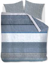 Beddinghouse Durness Blue Dekbedovertrek - Lits-Jumeaux - 240x200/220 - Blauw