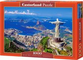 Rio de Janeiro, Brazil puzzel 1000 stukjes