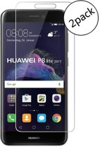 Ntech - 2 Pack Huawei P8 Lite 2017 screen protector / Glazen tempered glass 2.5D 9H (0.3mm)