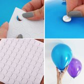 2 x 100 Ballon stickers | Muur stickers | Ballon plakkers | Ballonnen ophangen aan het plafond of aan de muur