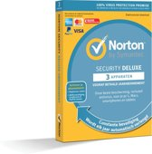Norton Security Deluxe 3 Apparaten | 1Jaar | 2019-editie | Antivirus inbegrepen | Windows / Mac / iOS / Android