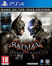 Batman: Arkham Knight Game of the Year Edition - PS4 (Import)