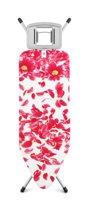 Brabantia Strijkplank C met Strijkijzerhouder - 124 x 45 cm - Pink Santini