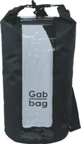 Dry Gabbag - 35 liter - Zwart - 100% waterdicht - Venster