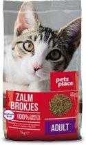 Pets Place Kat Adult - Kattenvoer - Zalm - 1 kg