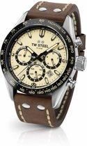 TW Steel Chrono Sport CHS2 Heren Horloge Staal 46mm Chrono