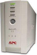 APC Back-UPS BK500EI - Noodstroomvoeding / 4x C13 uitgang / USB / 500VA