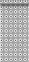 HD vliesbehang ruit zwart en wit - 138863 ESTAhome.nl