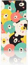 Samsung Galaxy J2 2016 Bookcase hoesje Bears