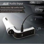 Earldom Bluetooth Stereo FM Transmitter - Voor Bellen & Muziek in de Auto - M7 Zwart
