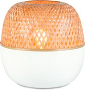 Good & Mojo Tafellamp – MEKONG – Bamboe - Product Grootte: Large