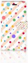 Samsung Galaxy A7 2017 Bookcase hoesje Design Dots