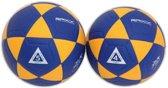 Raxx korfbal - geel/blauw - maat 4